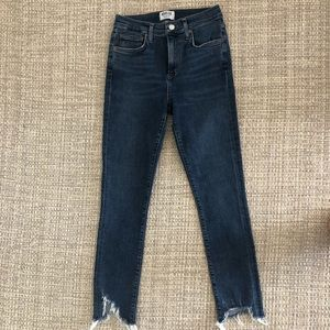Agolde Mid Rise Ankle Skinny